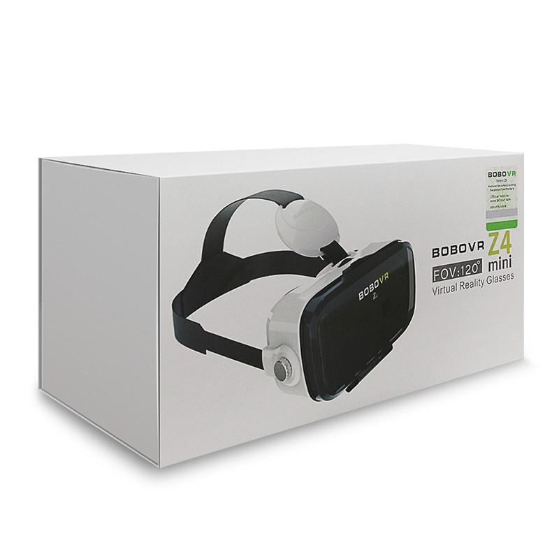 Original BOBOVR Z4 mini 3D VR glasses virtual reality google Cardboard Helmet Headset Stereo BOBO VR BOX for 4-6'' Mobile Phone 8
