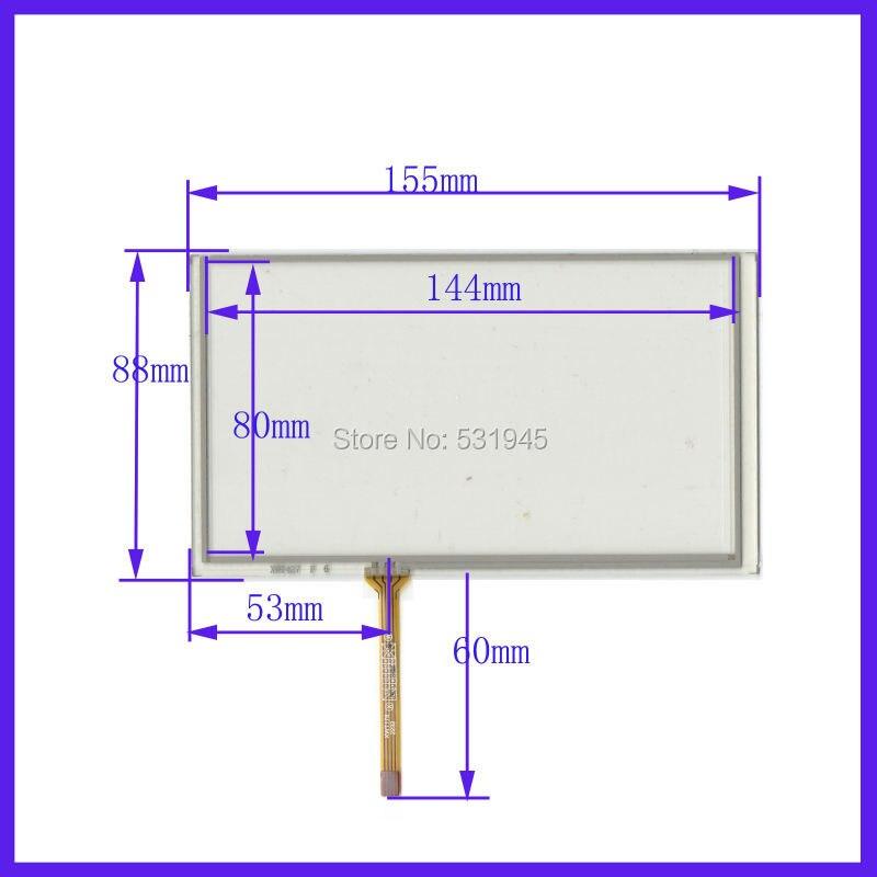 Zhiyusun 6,2 Zoll Freeshipping Touchscreen Glas Für Geheimnis Mdd-6280nv Auto Navigators 6,2 Zoll Gute QualitäT
