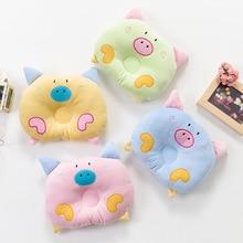 Baby pillow velvet cushion  baby room decor correction sleep nursing pillow child flat head pillow babykamer almofada infantil