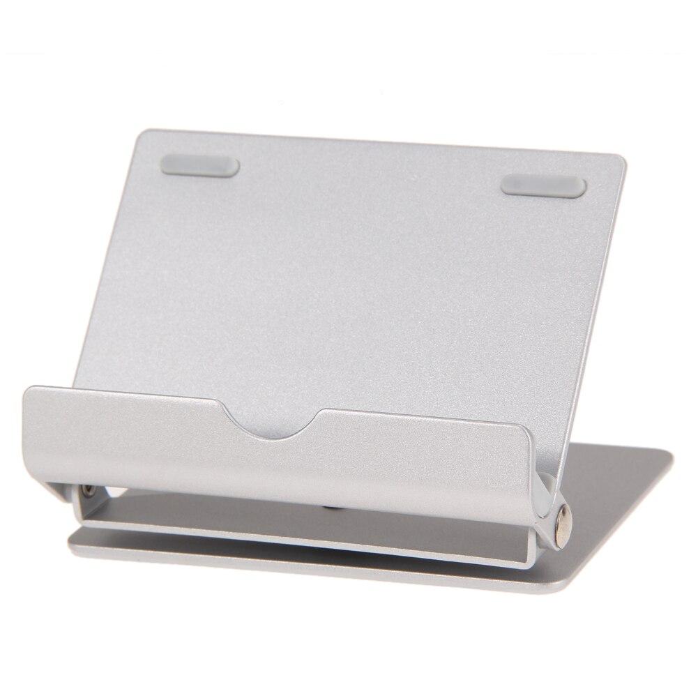 Alloet Universel En Aluminium Double-up Téléphone Bureau Stand, réglable Multi-angle Mobile Téléphone Tablet Support Pour Sumsung Téléphones Tablet