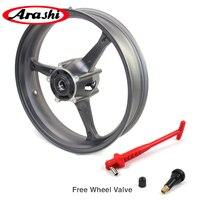 Arashi GSXR1000 05 08 Front Wheel Rim Rims For SUZUKI GSX R1000 GSX R1000 2005 2008 Matte Black 2006 2007 GSXR600 GSXR750