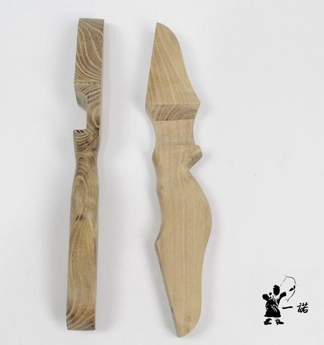 feito de longbow caça arco punho tem sido perfuração com parafusos