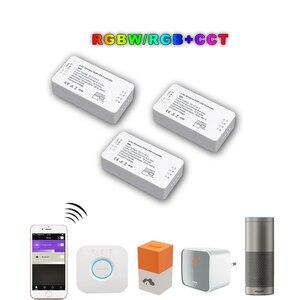 Image 4 - ZIGBEE Led בקר RGB + CCT WW/CW בקר LED DC12 24V LED רצועת בקר ZLL APP בקר RGBW RGB דימר