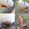 Двухсторонний 300 кг Большой сильный магнит рыболовный спасательный неодимовый магнит с веревкой вариант D74mm Магнитный сокровище охотничий ...