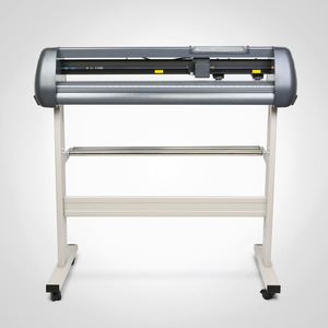 Image 2 - 저렴한 비닐 커터 34 인치 플로터 기계 870mm 종이 피드 스탠드