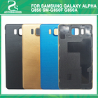 Rear G850 Battery Back Cover Housing For Samsung Galaxy Alpha G850 SM-G850F G850A Battery Door Back Case