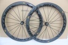 베스트 셀러 초경량 능 직물 cosmic SLR 탄소 바퀴 700C 50mm Clincher 25mm 폭 Powerway R36 Racing Road Bike Wheelset