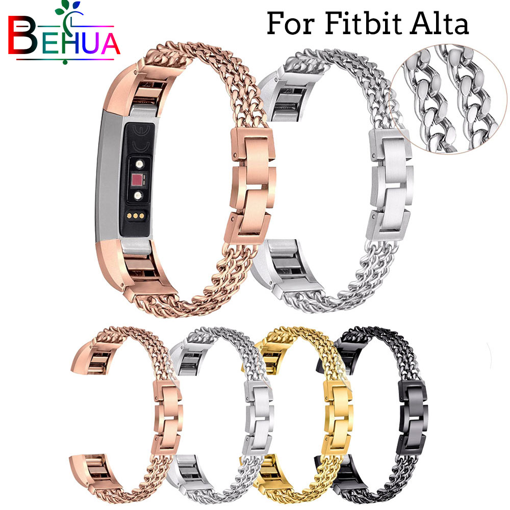 high quality Stainless Steel Replacement Metal Watch Band For Fitbit alta Wrist strap For Fitbit Alta HR Denim bracelet Bandhigh quality Stainless Steel Replacement Metal Watch Band For Fitbit alta Wrist strap For Fitbit Alta HR Denim bracelet Band