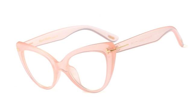 d6296a75ab RSSELDN New 2018 Fashion Cat Eye Glasses Frames Brand Design Vintage Cat  Eye Eyeglasses Frame Women Clear Black Leopard D3079