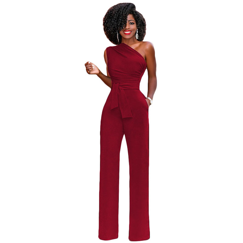 jumpsuits for women 2018 Solid long pant erompers womens jumpsuit sexy bodysuit bodycon jumpsuit body feminino bandage jumpsuit