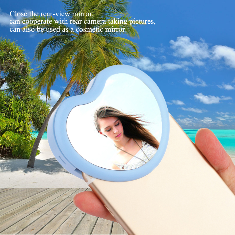 3 in 1 New Type Selfie LED Ring Light Portable Rechargeable <font><b>Cell</b></font> <font><b>Phone</b></font> Beauty LED <font><b>Photography</b></font> for iPhone Android <font><b>Phone</b></font>