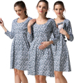 MamaLove Maternity Clothes Maternity Dresses pregnant Nursing Dress pregnancy clothes for Pregnant Women Breastfeeding dresses
