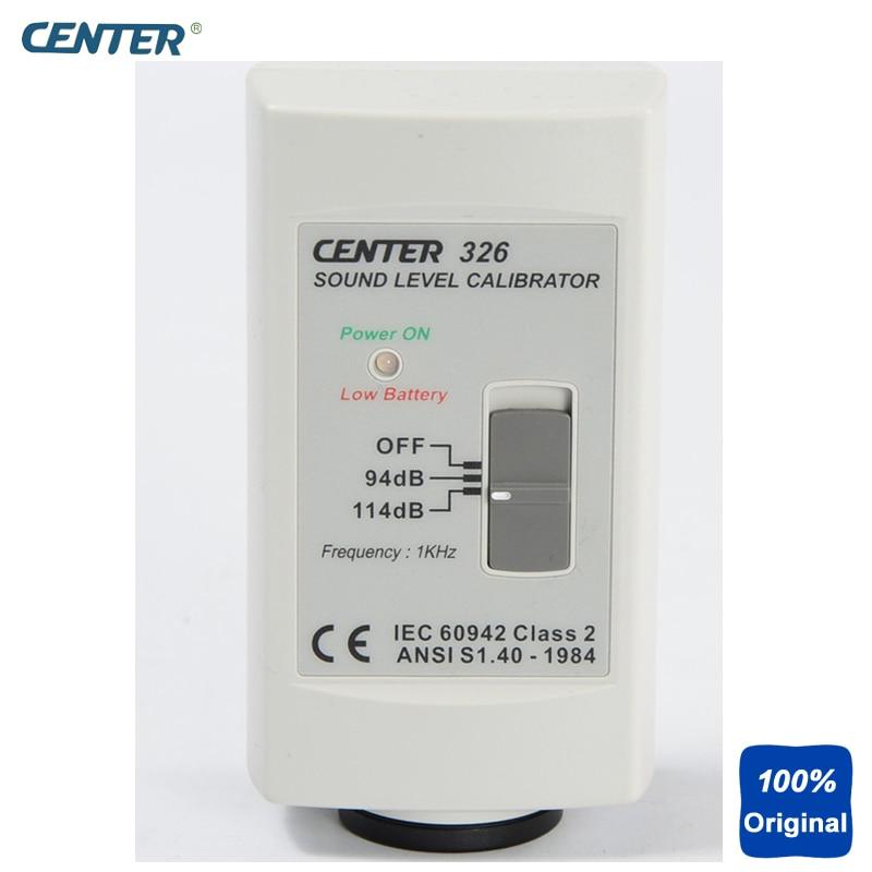 Calibrateur de niveau sonore précis et Simple à utiliser calibrateur de niveau sonore (94dB/114dB) CENTER-326