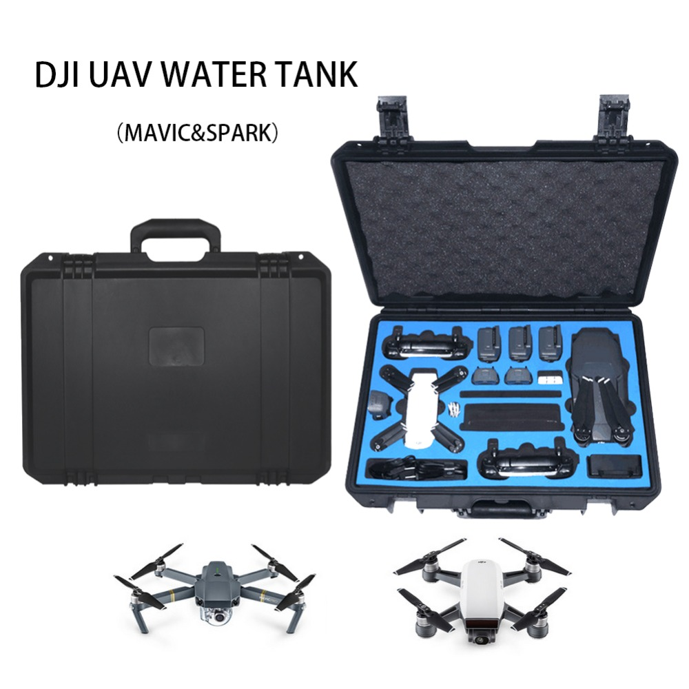 DJI Mavic Drone Bag Professional Suitcase Accessories Storage Backpack DJI Mavic/Spark Waterproof Hardshell Case Bag dji spark glasses vr glasses box safety box suitcase waterproof storage bag humidity suitcase for dji spark vr accessories