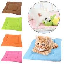 5 цветов, мягкая подушка для домашних животных, теплое одеяло для собак, домик для щенков, для кошек, спальный коврик, кровать для домашних животных, для маленьких, средних и больших собак, cama perro