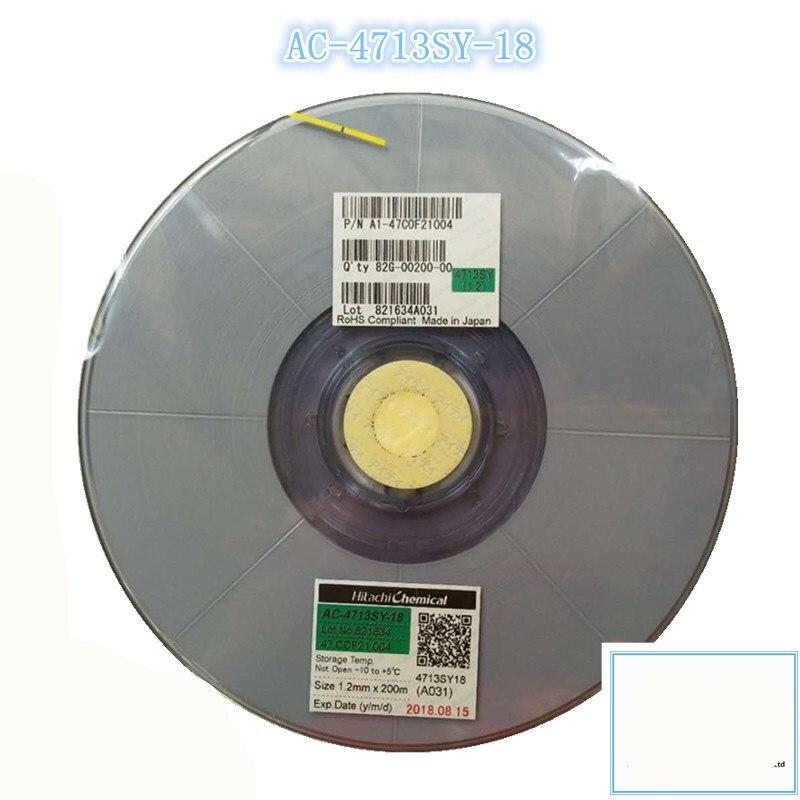 Original ACF AC 4713SY 18 For Hitachi High Denstiy Glass Repair TAPE 1 2 1 5mm