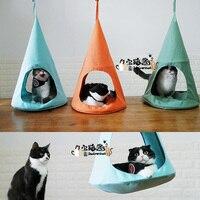 Кошка Собака кровать сильная кошка Треугольники Гамак ПЭТ кровать Котенок Дом кровати Чихуахуа несколько Цвет зоотоваров аксессуары