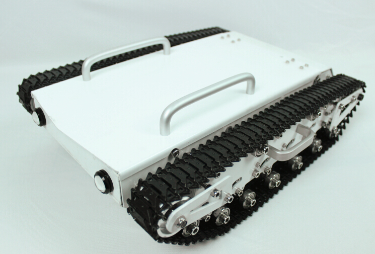 Big Bearing Weight Tank Chassis RC Tracked Car Remote Control Mobile Robot explore communication education caterpillar broadland big tank car chassis tracked car weight 8 5kg load carry more than 30kg obstacle surmounting robot parts for remote control