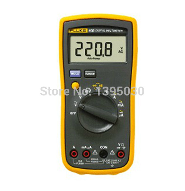 1pcs Authentic New FLUKE 15B F-15B F15B Digital Multimeter Meter warranty 100% original fluke 15b f15b auto range digital multimeter meter dmm