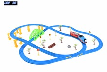 LEO RC DIY Tomas and friends B/O train PP plastic track toys