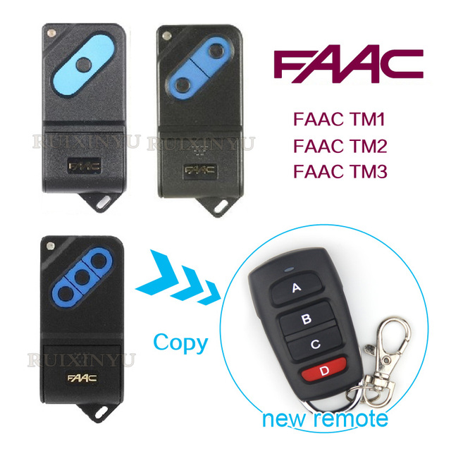 Copy Faac Remotes Faac Tm1 Faac Tm2 Faac Tm3 Remotes Universal