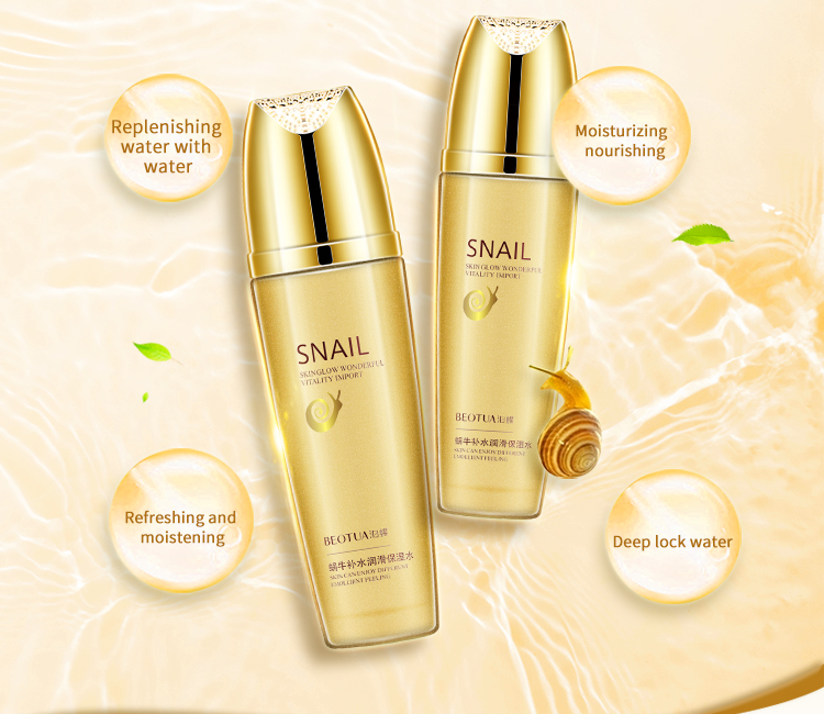 Snail Toner 120 Ml Face Toner Korean Anti Aging Anti Wrinkle Skin Skin Facial Toner Cosmetics Skin Care Whitening