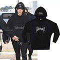 Hip Hop urban streetwear clothing kpop clothes kanye west box logo hoodie 3in 1 Vetements polizei convoluted reversible top cap