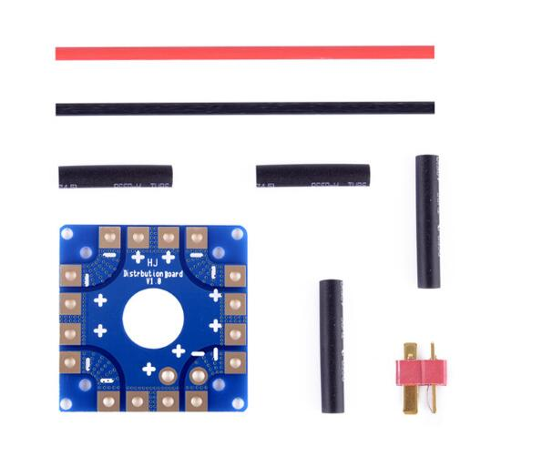 Aliexpress com : Buy KK MWC APM Flight control Multicopter universal Power  Battery ESC Connection Board Distribution Board ESC distributor plate from
