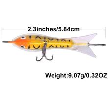 Goture New Arrival 9g/5.8cm Ice Fishing Lures Winter Fishing Baits Lead Jigging Bait Hard Lure Balancer for Fishing 5pcs/Lot