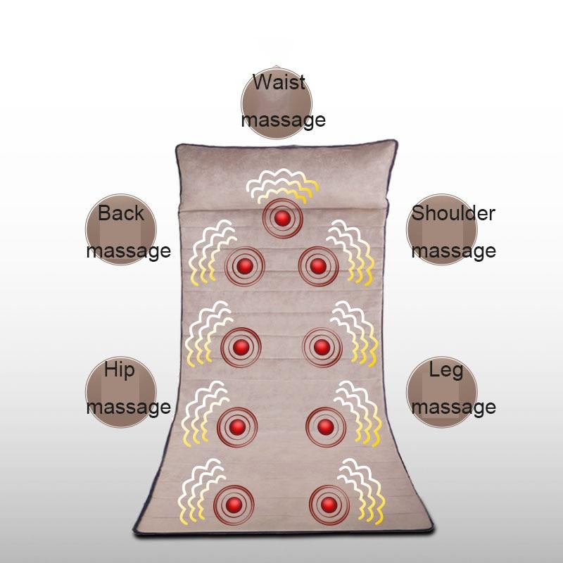 Multifunctional Body Cervical Massager Neck Waist Shoulder Vibration Matching Neck Salt Bag Wave Vibration Massage Easy Sleep
