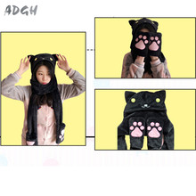 Kawaii Neko Atsume Cosplay Scarf