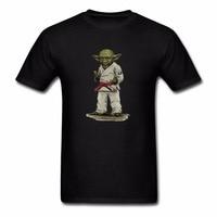 Newest 2018 Men T Shirt Fashion Yoda Judo Teen Hip Hop Shirts Top Large Size T