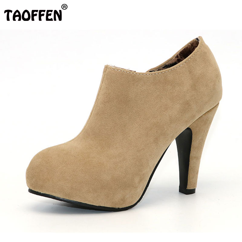 TAOFFEN free shipping high heel shoes women sexy dress footwear fashion lady female pumps P13165 hot sale EUR size 32-43 free shipping candy color women garden shoes breathable women beach shoes hsa21