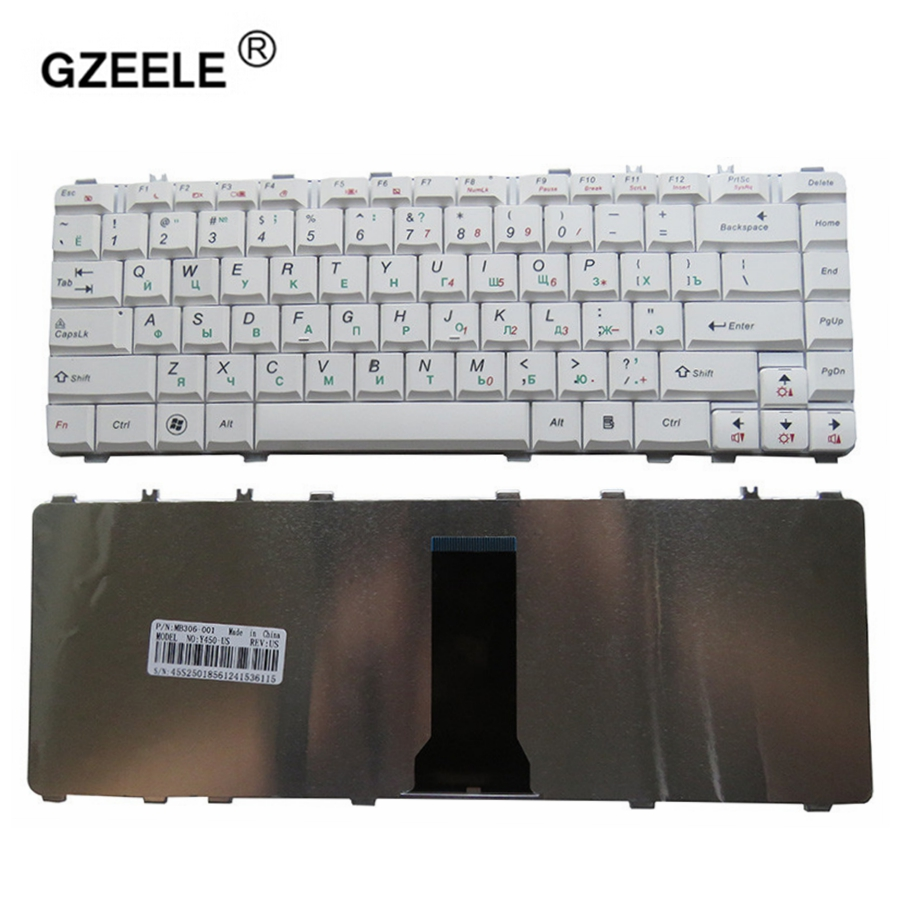 GZEELE New For Lenovo Ideapad Y450 Y450A Y560AT Y450G Y550 Y550A V460 Y560D T560DT Y560P Y460N Y460NE Y460C Russian RU Keyboard