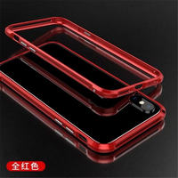 For Iphone X Case BOBYT Ultrathin Aircraft Aluminum Bumper Metal Frame Cases Cover For Iphone X
