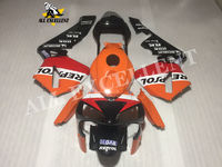 Modification accessories Sports bodywork Full fairing kit red painted For HONDA CBR600RR 2003 2004 Injection PAINTED