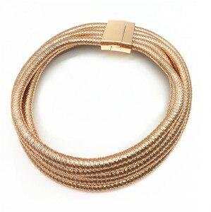 Image 2 - Liffly Fashion Choker naszyjnik dla kobiet nigeryjczyk ślub panny młodej kostium imprezowy biżuteria naszyjnik