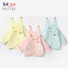 цена на HHTU Baby Outwear Infants Girls Boys Coat Autumn Winter Cotton Rabbit Thick Kids Clothes Jacket Coats Children Clothing