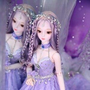 Image 4 - Dbs Droom Fairy 1/3 Bjd 60Cm Pop Joint Body Sd Speelgoed Inclusief Haar Jurk Schoenen Hoofdtooi Meisje Gift
