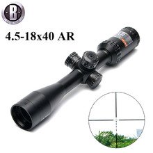 BU 4.5-18×40 AR/223 BDC  Tactical Rifle Scope Outdoor Reticle Optic Sight Cross Riflescope Long Distance Hunting Scopes