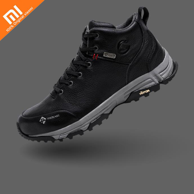 Xiaomi PROEASE ALPEN men's V waterproof outdoor shoes natural leather non-slip shoes hiking shoes HOT for Smart Remote Control