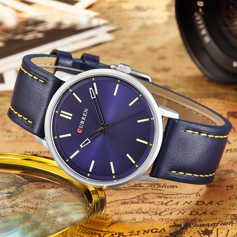 2018 Style Fashion Watches Super Man Luxury Brand CURREN Watches Men Clock Men's Watch Retro Quartz Relogio Masculion For Gift