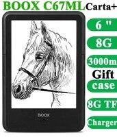 Новый onyx boox C67ML Carta плюс для чтения электронных книг 6 8 г WiFi Eink сенсорный экран 3000 мАч карман книги подарок PU крышка электронная книга Frontlight