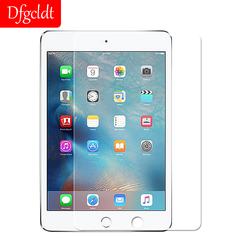 For Apple Ipad Air 1 2 100/% Real 0.3mm Transparent 9H Screen Protector Film P