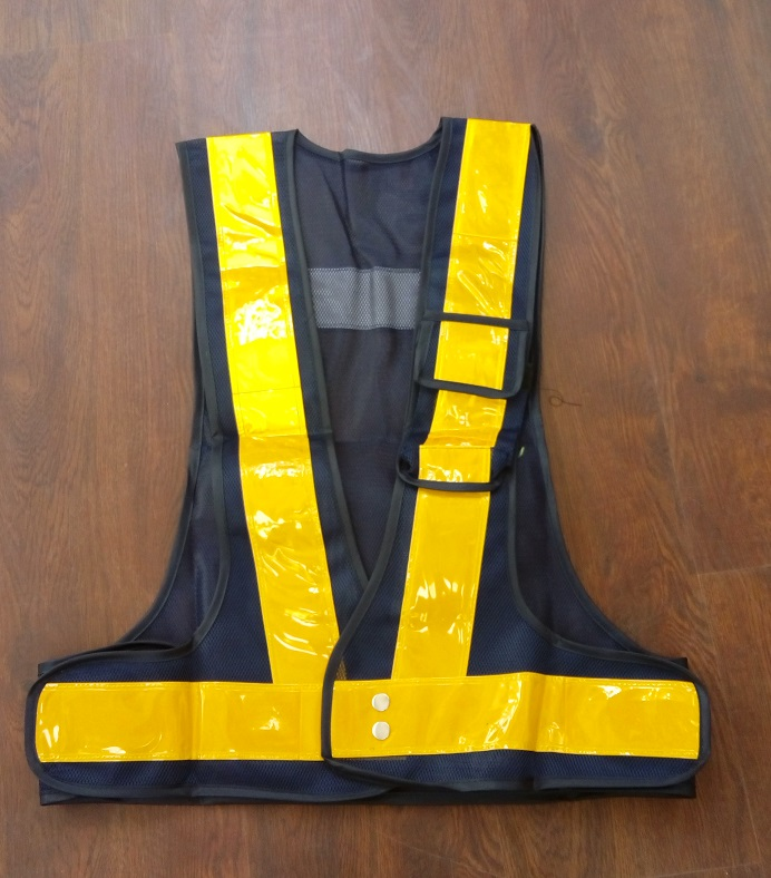 Adroit Yemingduo Worker Road Traffic Reflective Mesh Vest High Light Reflective Pvc Tape Safety Clothing Agreeable To Taste Workplace Safety Supplies Safety Clothing