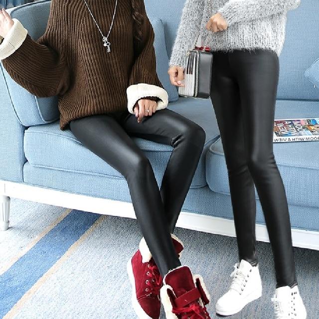 High Waisted Warm Leggings