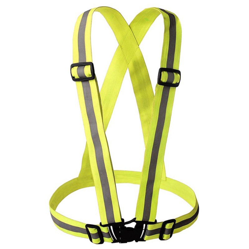 High Quality Safety Reflective Belt Strap Arm Band Outdoor Sports Night Cycling Running Accessories