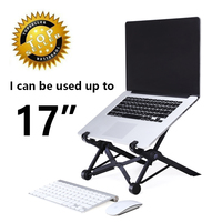Ergonomic Folding Laptop Stand Adjustable Protable Laptop Table Cooler Stand Notebook Cooling Support Pad