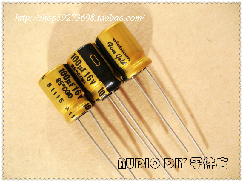 30PCS Electrolytic Capacitor for 100uF 16V Audio for FG Series free shipping