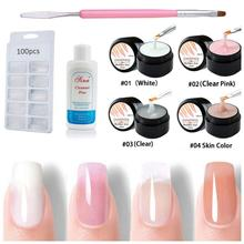New Polygel Kits Professional Fast Dry Flexible Stronger Acr